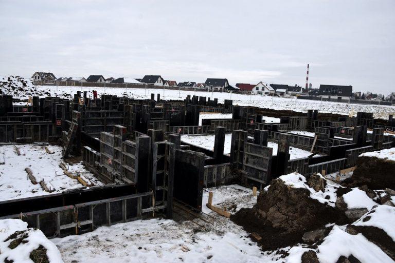 Trwa budowa żłobka w Pszennie [FOTO]