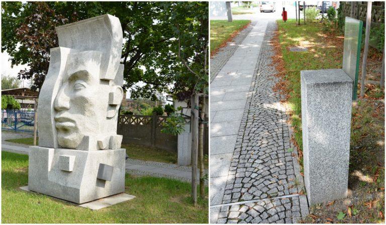 Akt wandalizmu na strzegomskiej Alei Rzeźb