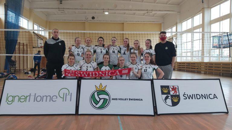 Kadetki Volley'a powalczyły, ale znalazły się za burtą mistrzostw Polski