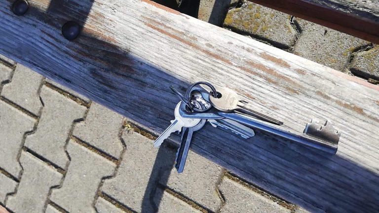 Na osiedlu Zawiszów znaleziono klucze
