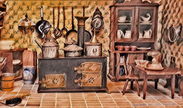 Jak urządzić kuchnię w starodawnym, przytulnym stylu- vintage, retro czy rustykalny?