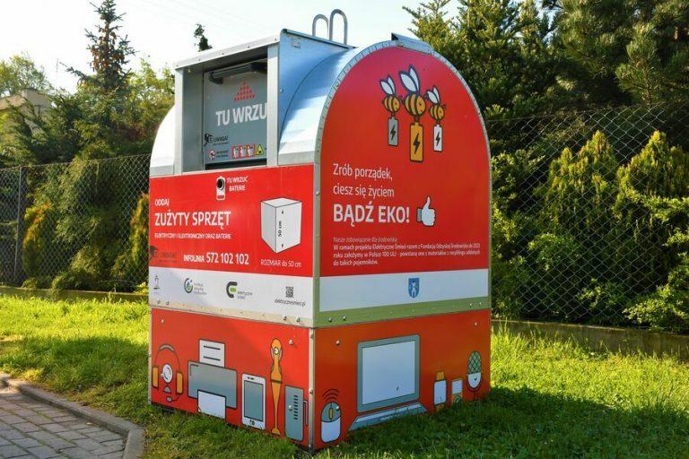Mieszkańcy łatwiej pozbędą się elektrośmieci. W Świebodzicach stanęły pojemniki na zużyty sprzęt
