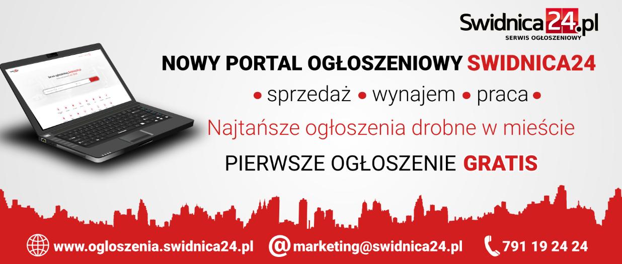 serwis ogłoszeniowy, ogłoszenia drobne, Swidnica24.pl
