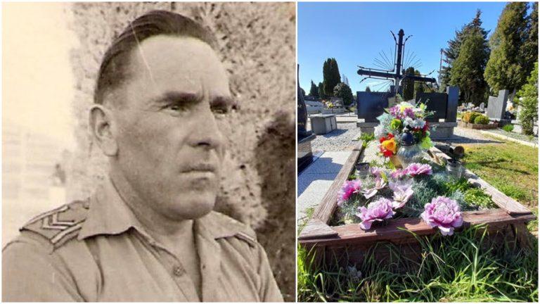 Walczył pod Monte Cassino. Zatroszczą sięo grób bohatera