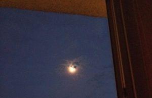 Księżyc w sobotnią noc 19.06.2021, fot. Teresa Nitsch