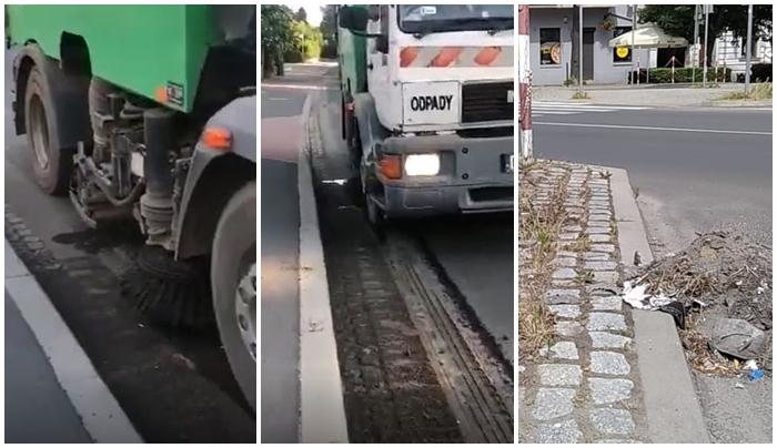 Ulice brudne, chodniki zarośnięte, mycie jezdni ograniczone [FOTO/VIDEO]