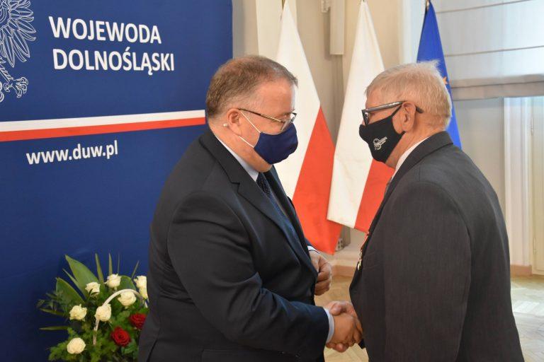 Zygmunt Zelek odznaczony Krzyżem Kawalerskim Orderu Odrodzenia Polski