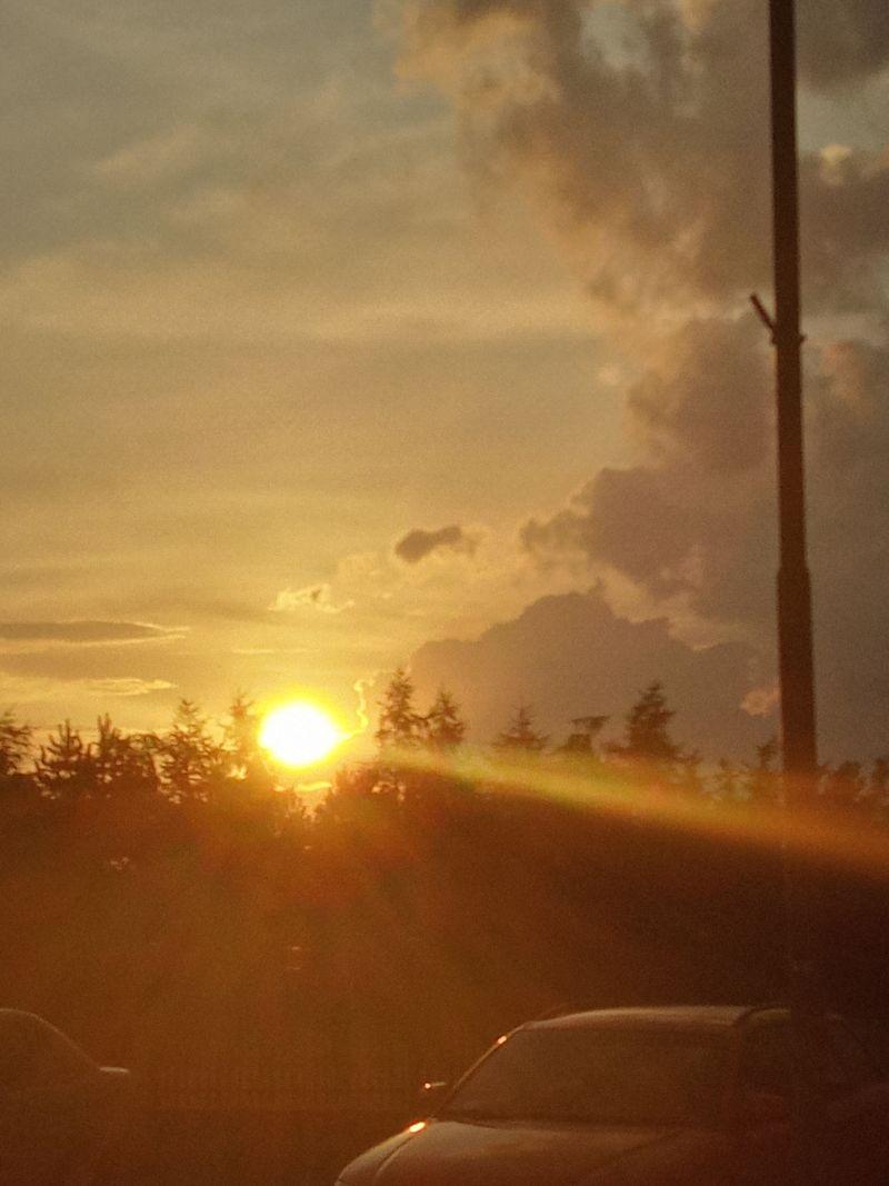 Zachód słońca_lipiec 2021_ fot. Teresa Nitsch