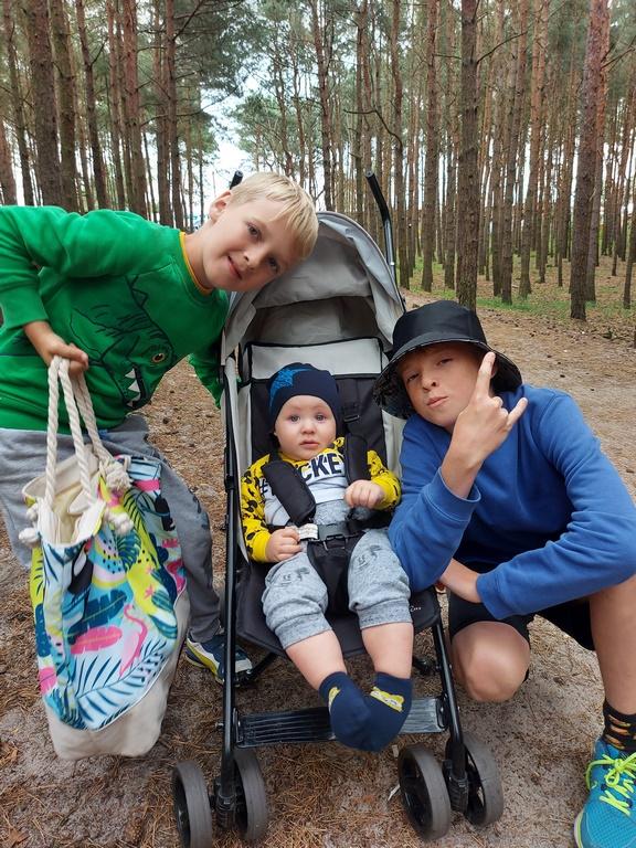 Władysławowo_10 sierpnia 2021_z moją wspaniałą rodziną_fot. Alicja Antonow