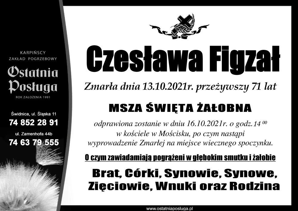 Czesława Figzał